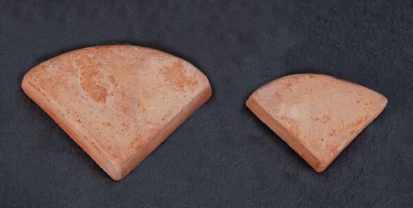 Terracotta Füße